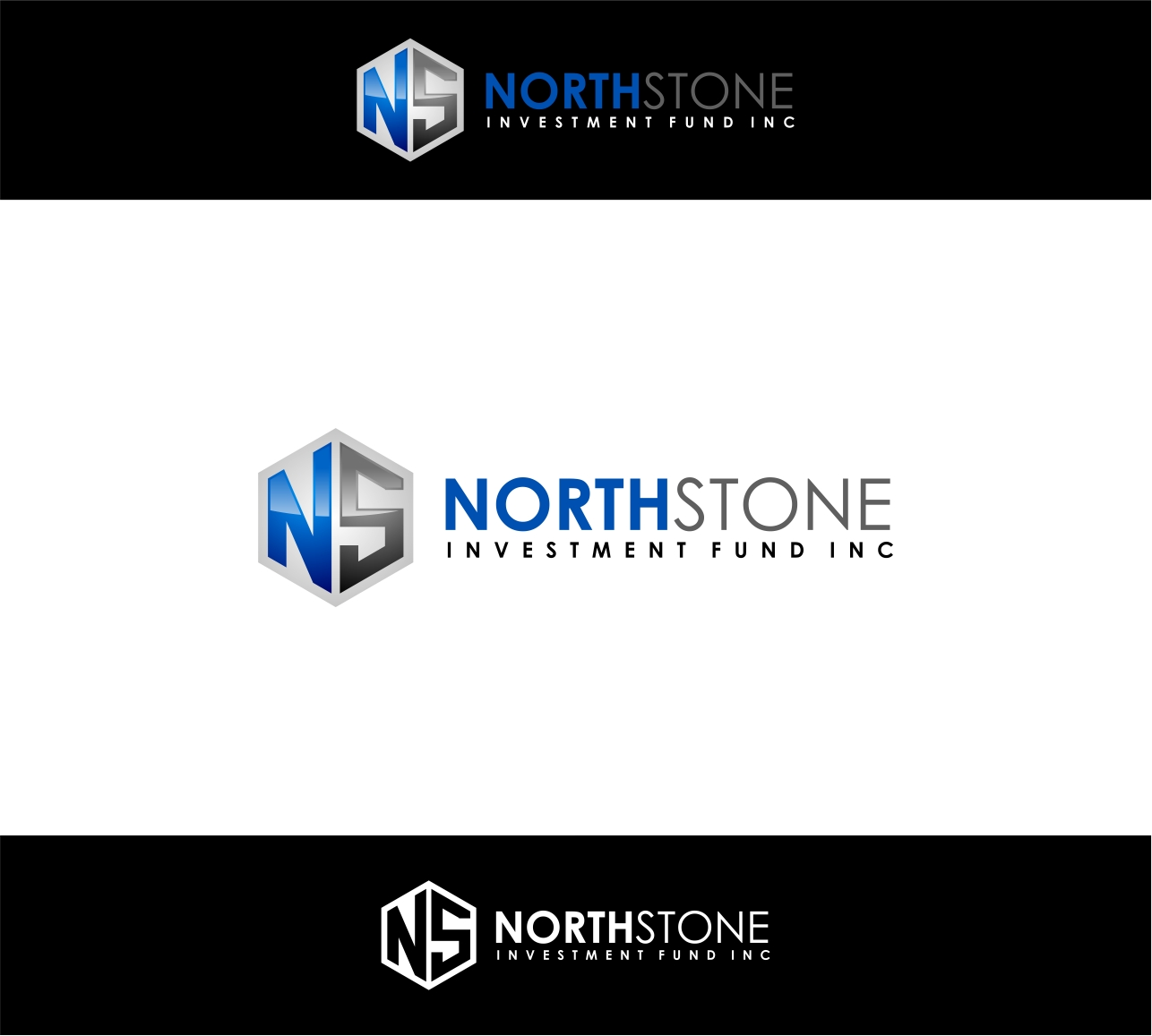 Logo Design by haidu - Entry No. 82 in the Logo Design Contest Unique Logo Design Wanted for NorthStone Investment Fund Inc.