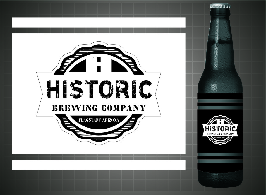 Logo Design by RasYa Muhammad Athaya - Entry No. 99 in the Logo Design Contest Unique Logo Design Wanted for Historic Brewing Company.