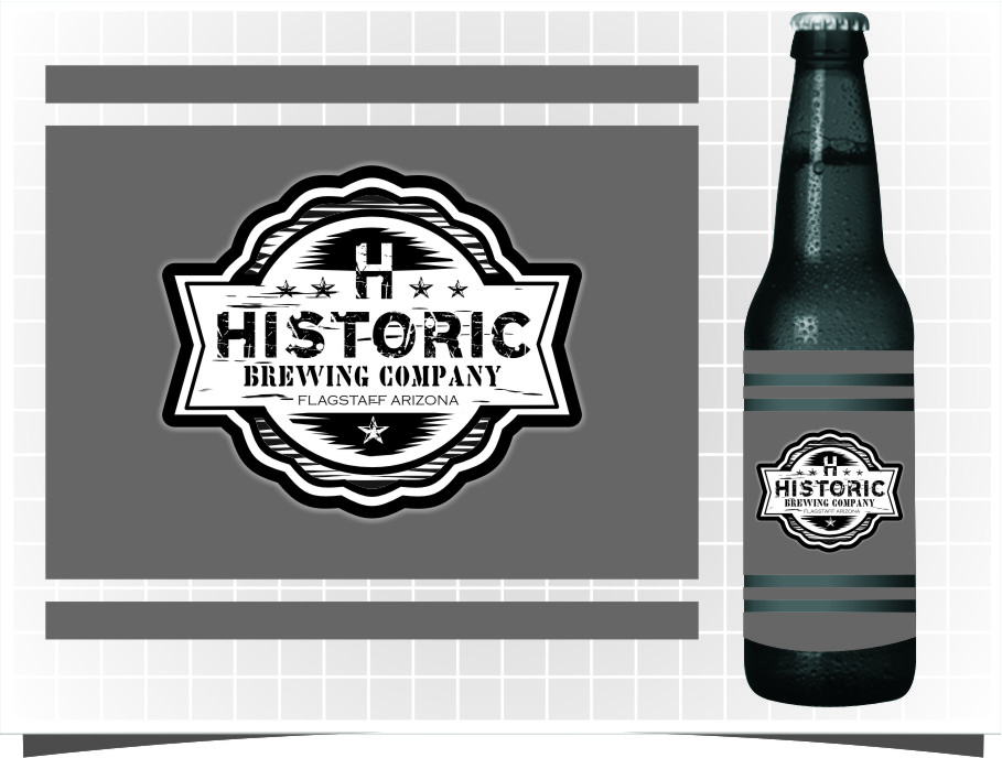 Logo Design by RasYa Muhammad Athaya - Entry No. 100 in the Logo Design Contest Unique Logo Design Wanted for Historic Brewing Company.