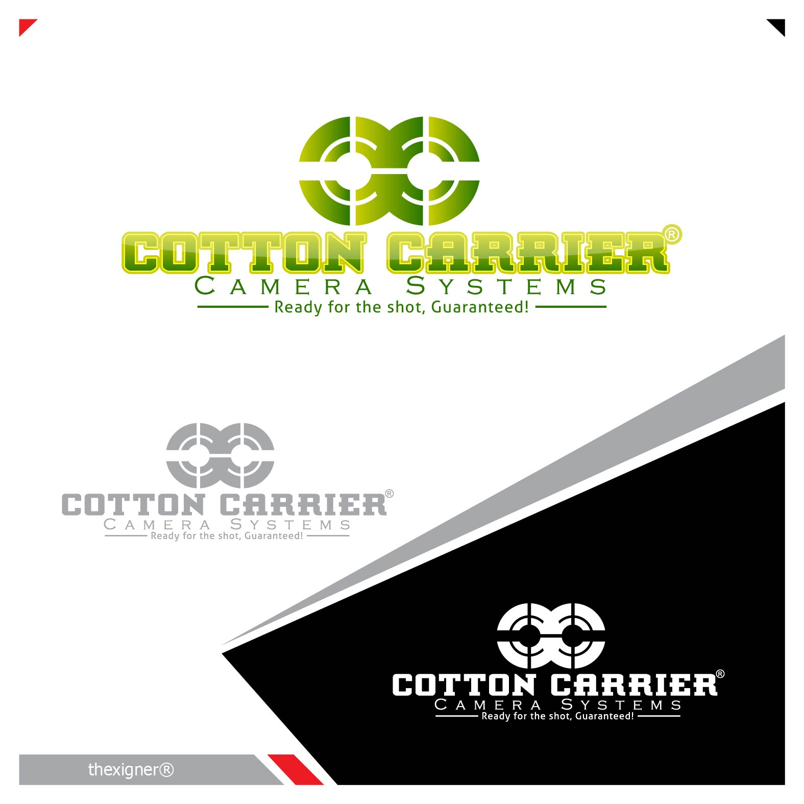 Logo Design by lagalag - Entry No. 23 in the Logo Design Contest Cotton Carrier Camera Systems Logo Design.