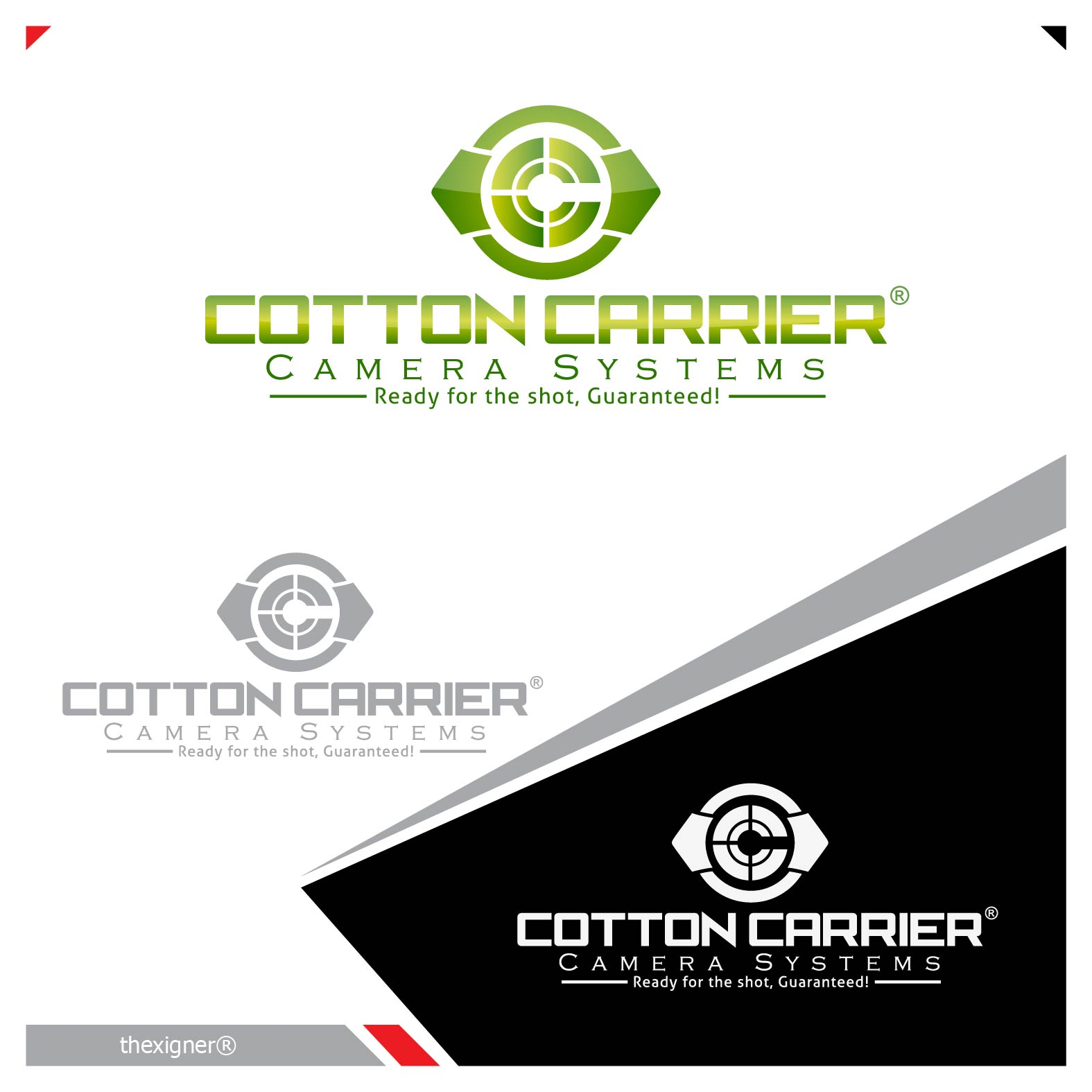 Logo Design by lagalag - Entry No. 24 in the Logo Design Contest Cotton Carrier Camera Systems Logo Design.