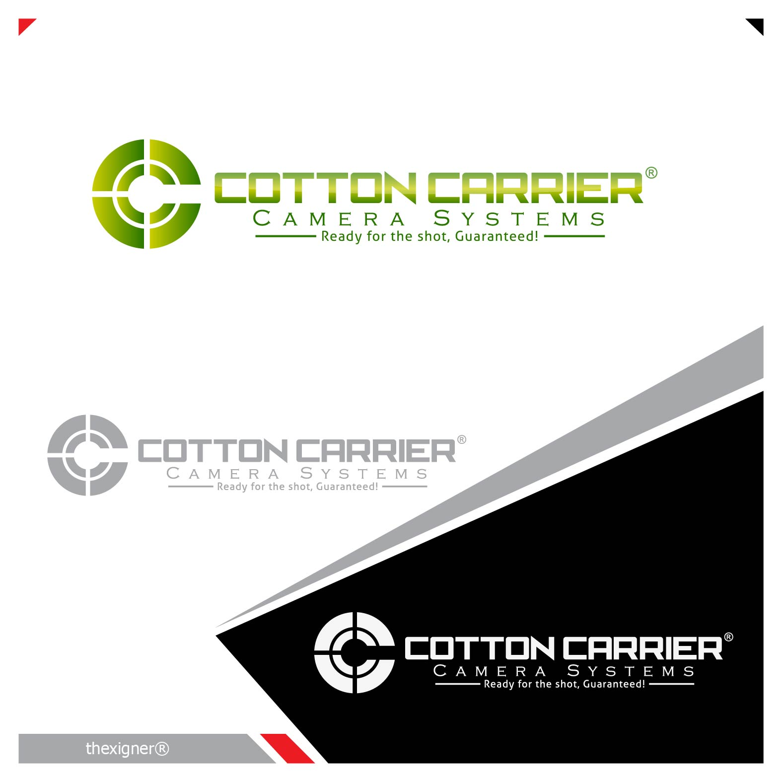 Logo Design by lagalag - Entry No. 25 in the Logo Design Contest Cotton Carrier Camera Systems Logo Design.