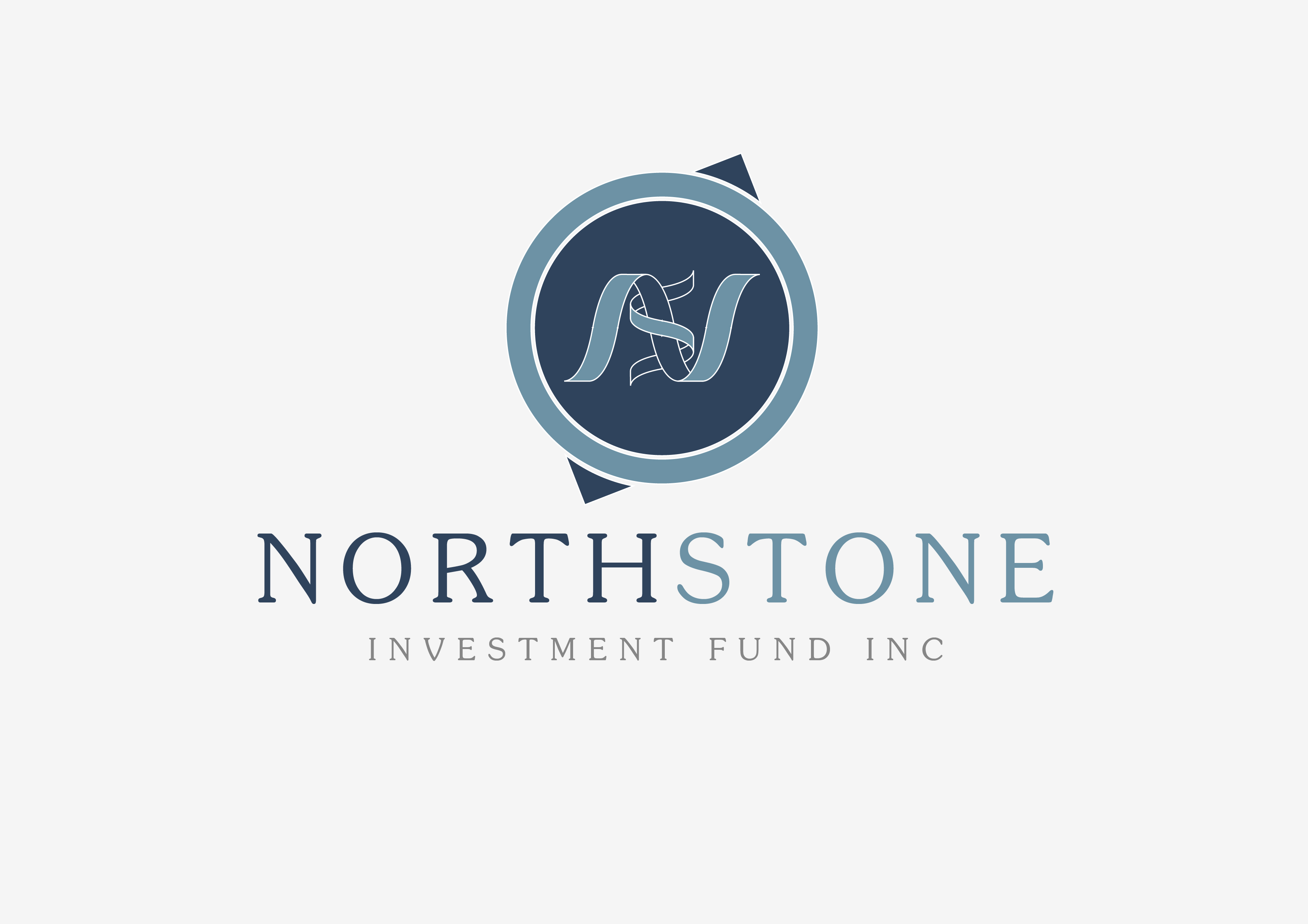 Logo Design by 3draw - Entry No. 94 in the Logo Design Contest Unique Logo Design Wanted for NorthStone Investment Fund Inc.