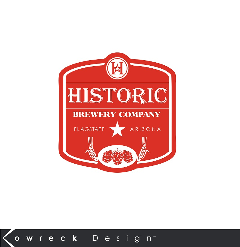 Logo Design by kowreck - Entry No. 108 in the Logo Design Contest Unique Logo Design Wanted for Historic Brewing Company.
