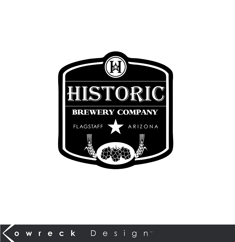 Logo Design by kowreck - Entry No. 109 in the Logo Design Contest Unique Logo Design Wanted for Historic Brewing Company.