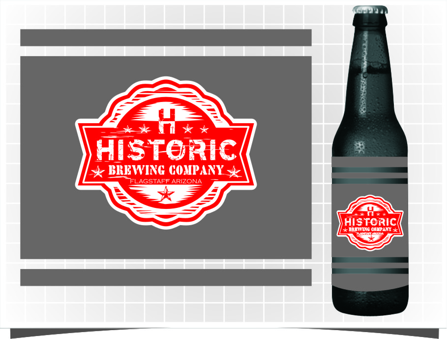 Logo Design by Ngepet_art - Entry No. 112 in the Logo Design Contest Unique Logo Design Wanted for Historic Brewing Company.