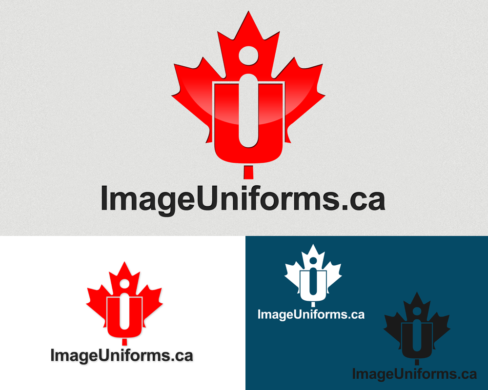 Logo Design by Private User - Entry No. 36 in the Logo Design Contest Inspiring Logo Design for Image Uniforms Inc.