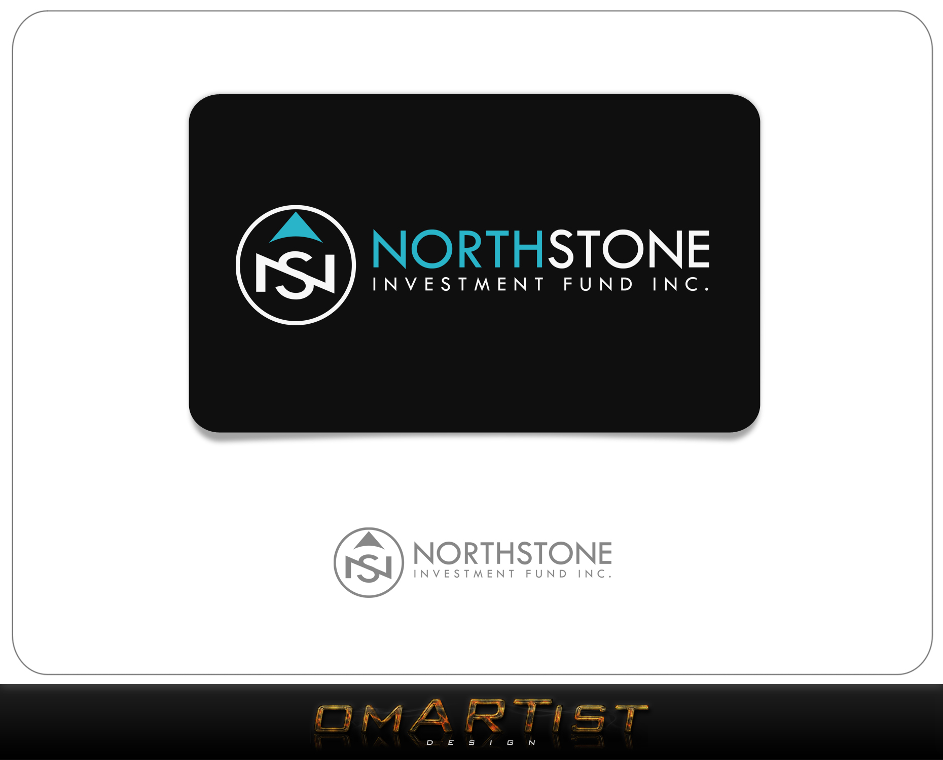 Logo Design by omARTist - Entry No. 157 in the Logo Design Contest Unique Logo Design Wanted for NorthStone Investment Fund Inc.