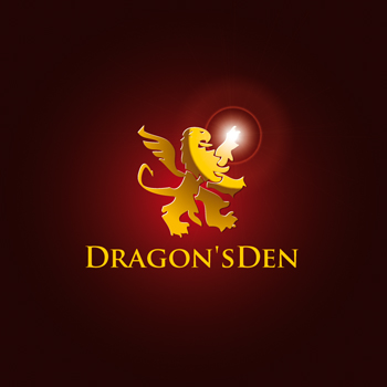 Logo Design by DINOO45 - Entry No. 61 in the Logo Design Contest The Dragons' Den needs a new logo.
