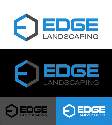 Logo Design by Agus Martoyo - Entry No. 3 in the Logo Design Contest Inspiring Logo Design for Edge Landscaping.