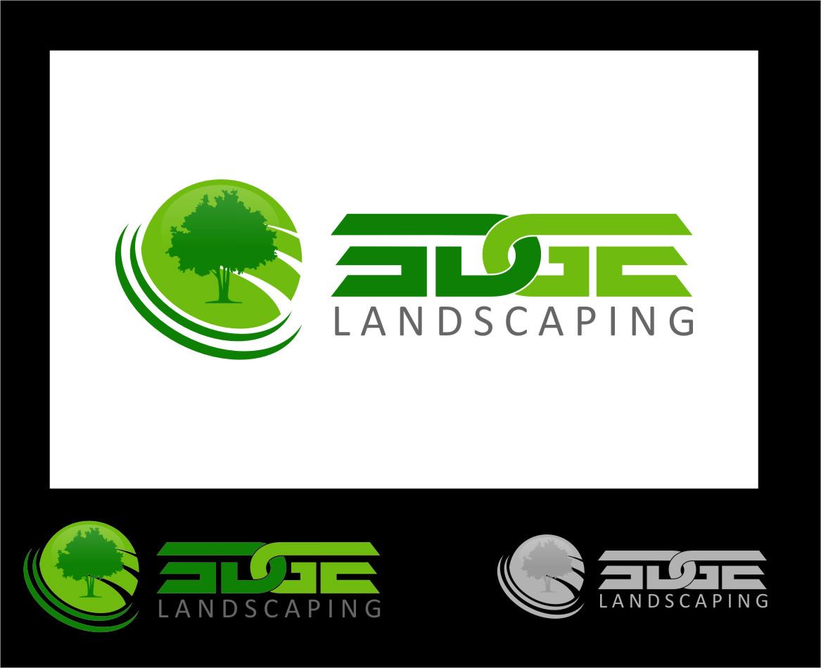 Logo Design by RasYa Muhammad Athaya - Entry No. 4 in the Logo Design Contest Inspiring Logo Design for Edge Landscaping.
