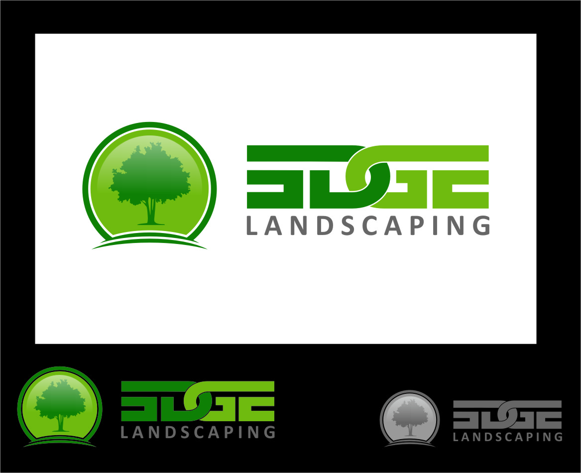 Logo Design by Ngepet_art - Entry No. 5 in the Logo Design Contest Inspiring Logo Design for Edge Landscaping.