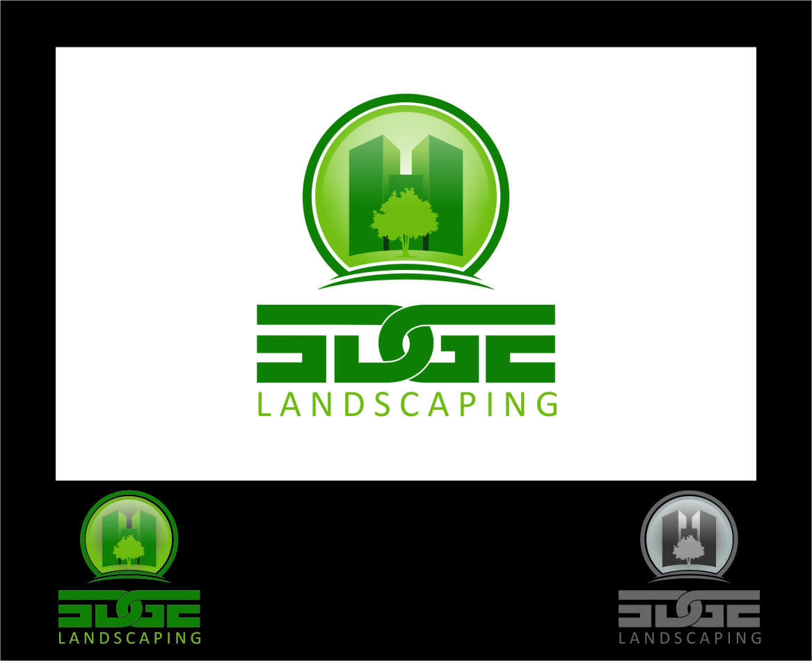 Logo Design by Ngepet_art - Entry No. 6 in the Logo Design Contest Inspiring Logo Design for Edge Landscaping.