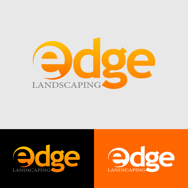 Logo Design by Ika Wulandari - Entry No. 12 in the Logo Design Contest Inspiring Logo Design for Edge Landscaping.