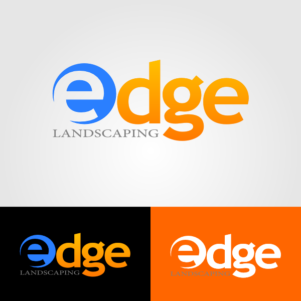 Logo Design by Ika Wulandari - Entry No. 14 in the Logo Design Contest Inspiring Logo Design for Edge Landscaping.
