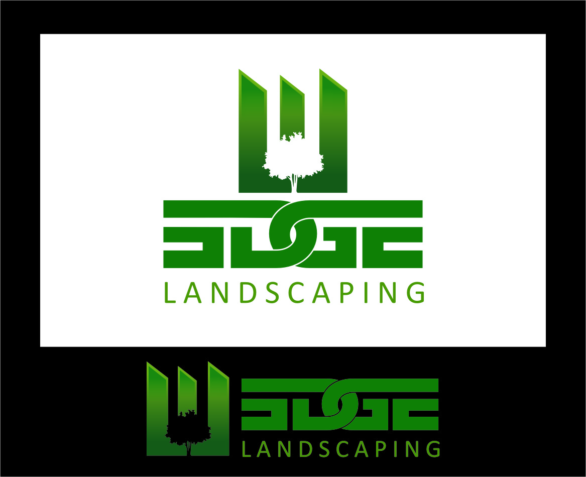 Logo Design by Ngepet_art - Entry No. 18 in the Logo Design Contest Inspiring Logo Design for Edge Landscaping.