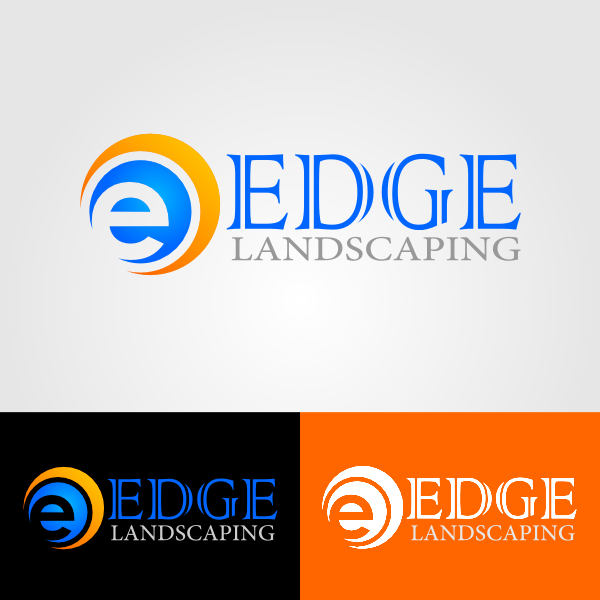 Logo Design by Ika Wulandari - Entry No. 19 in the Logo Design Contest Inspiring Logo Design for Edge Landscaping.