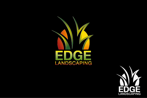 Logo Design by Private User - Entry No. 20 in the Logo Design Contest Inspiring Logo Design for Edge Landscaping.