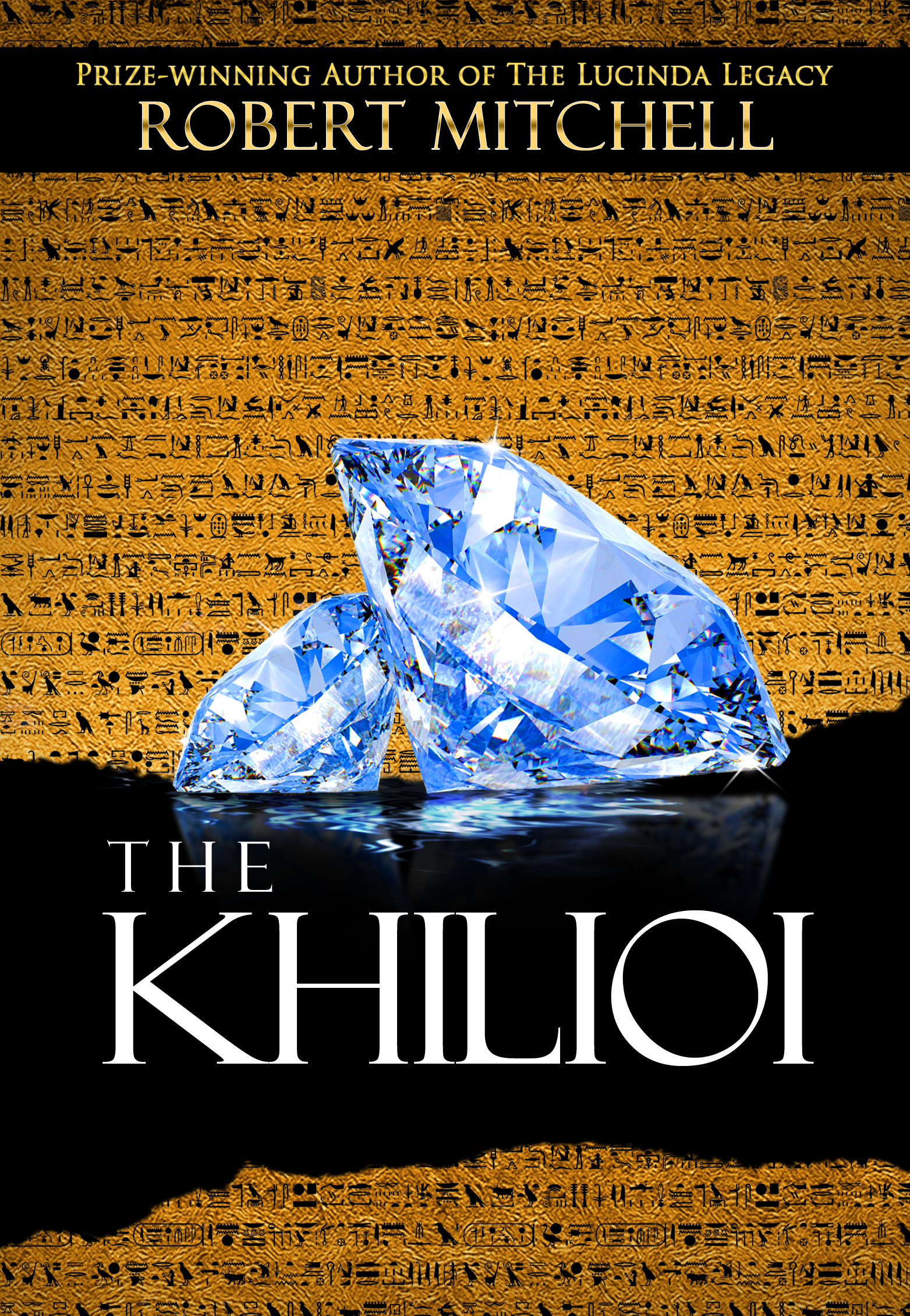 Book Cover Design by Kenneth Joel - Entry No. 73 in the Book Cover Design Contest The Khilioi Book Cover Design.