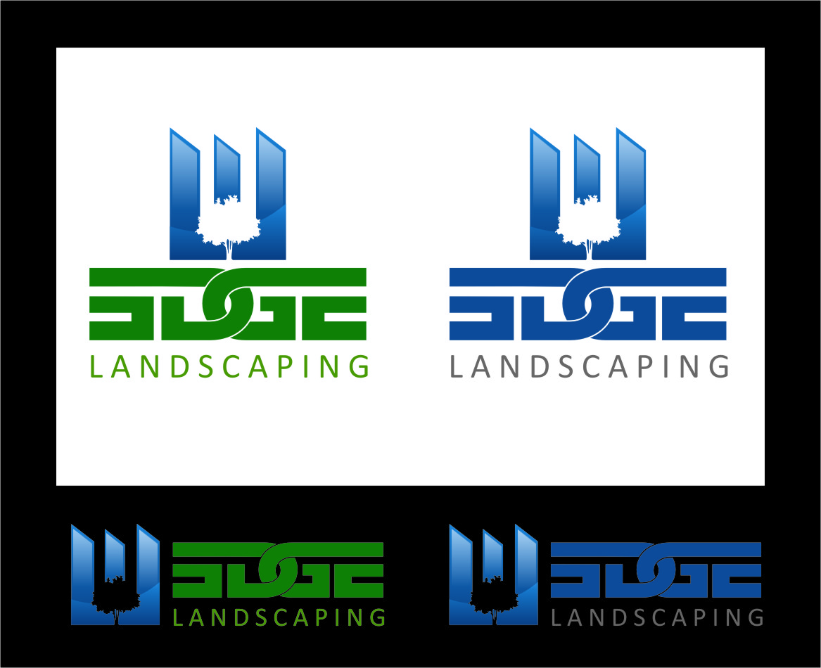 Logo Design by Ngepet_art - Entry No. 26 in the Logo Design Contest Inspiring Logo Design for Edge Landscaping.
