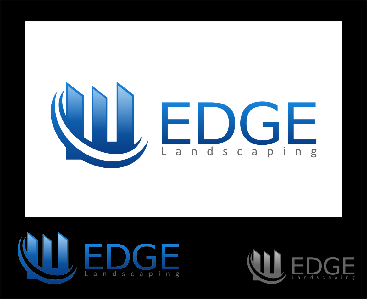 Logo Design by RasYa Muhammad Athaya - Entry No. 27 in the Logo Design Contest Inspiring Logo Design for Edge Landscaping.