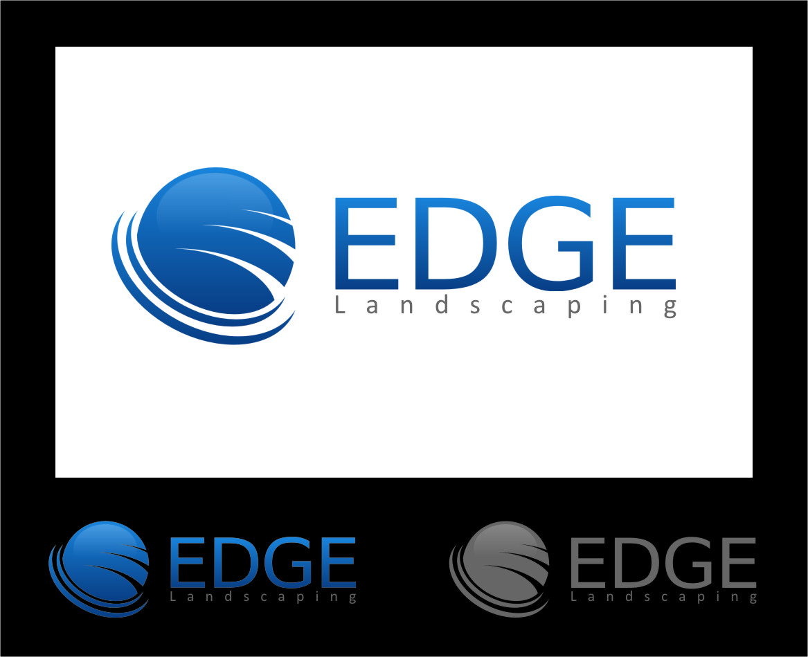 Logo Design by RasYa Muhammad Athaya - Entry No. 28 in the Logo Design Contest Inspiring Logo Design for Edge Landscaping.