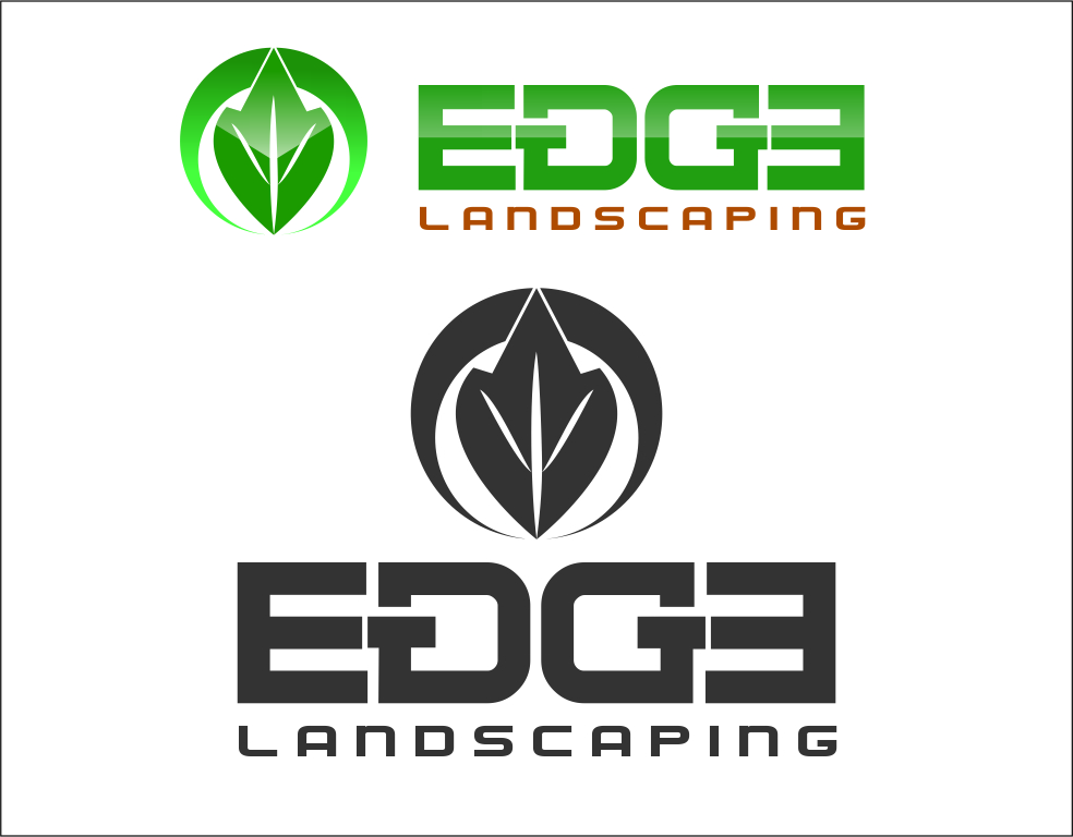 Logo Design by Agus Martoyo - Entry No. 30 in the Logo Design Contest Inspiring Logo Design for Edge Landscaping.