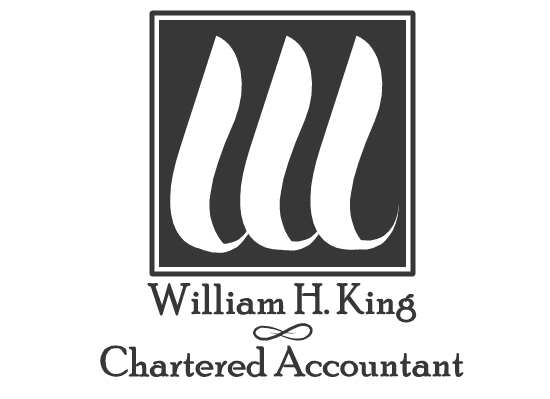 Logo Design by Ismail Adhi Wibowo - Entry No. 1 in the Logo Design Contest New Logo Design for William H. King, Chartered Accountant.