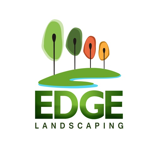 Logo Design by Respati Himawan - Entry No. 37 in the Logo Design Contest Inspiring Logo Design for Edge Landscaping.