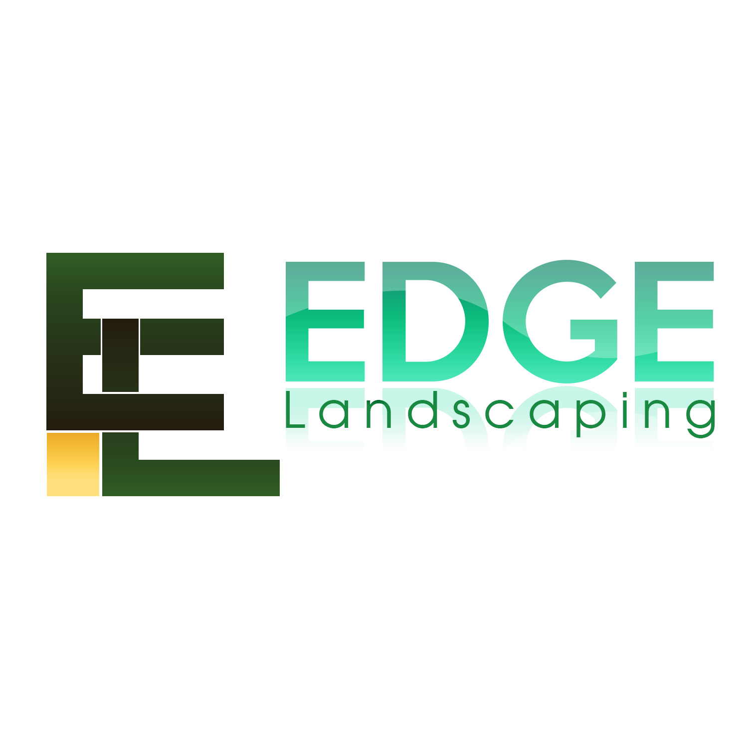 Logo Design by Kivi Marc Sarmiento - Entry No. 42 in the Logo Design Contest Inspiring Logo Design for Edge Landscaping.