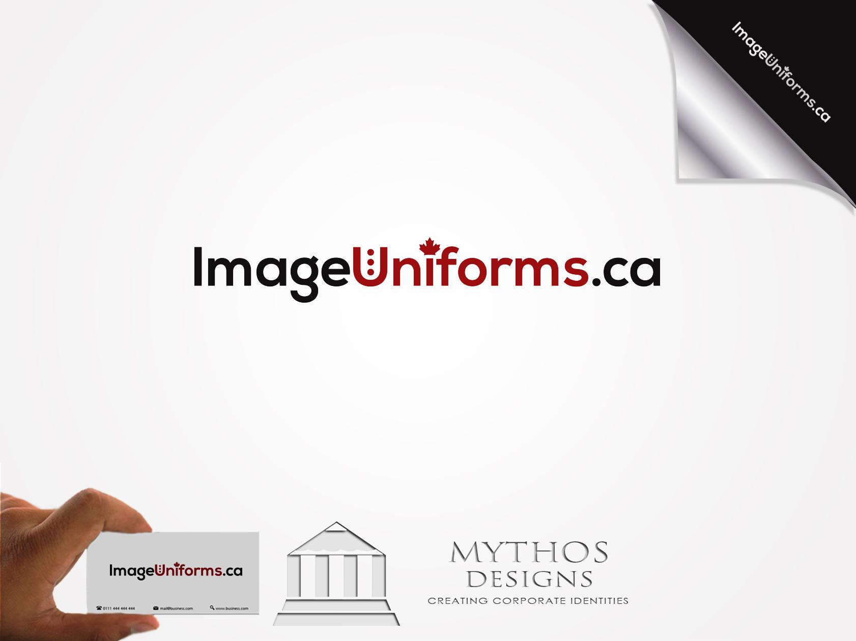 Logo Design by Mythos Designs - Entry No. 59 in the Logo Design Contest Inspiring Logo Design for Image Uniforms Inc.