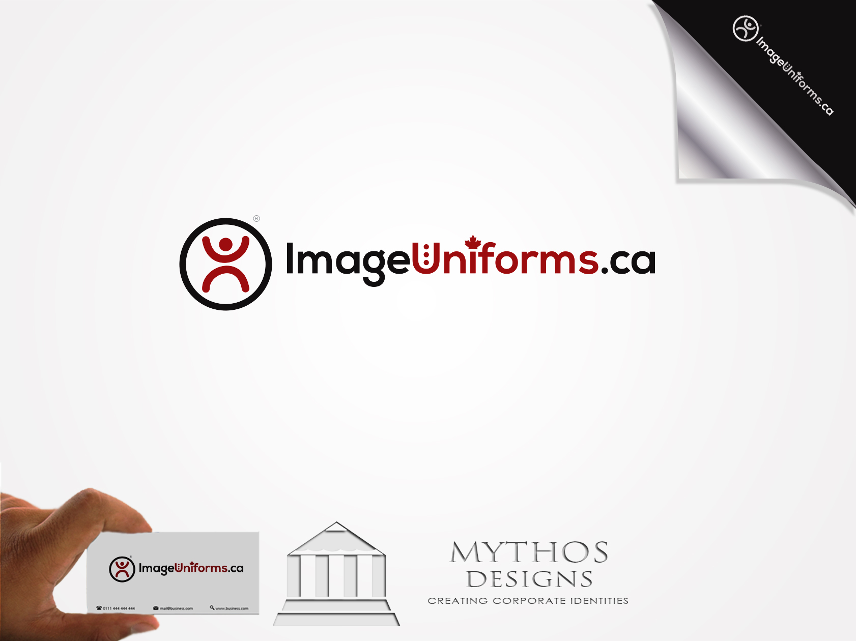 Logo Design by Mythos Designs - Entry No. 60 in the Logo Design Contest Inspiring Logo Design for Image Uniforms Inc.