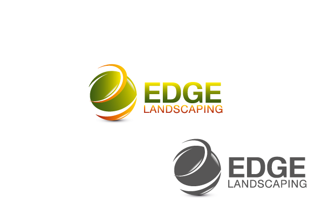 Logo Design by Private User - Entry No. 48 in the Logo Design Contest Inspiring Logo Design for Edge Landscaping.