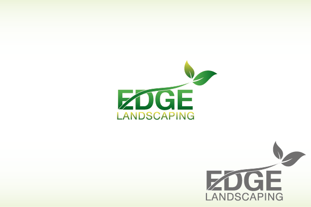Logo Design by Private User - Entry No. 52 in the Logo Design Contest Inspiring Logo Design for Edge Landscaping.