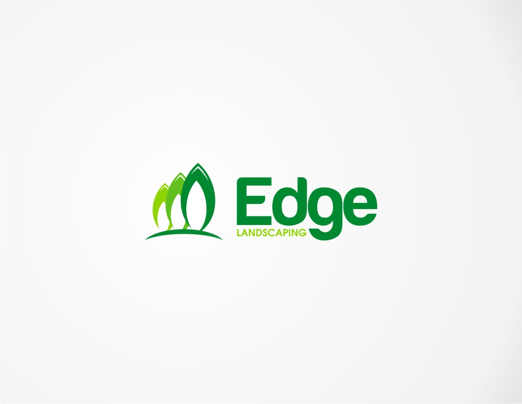 Logo Design by untung - Entry No. 57 in the Logo Design Contest Inspiring Logo Design for Edge Landscaping.