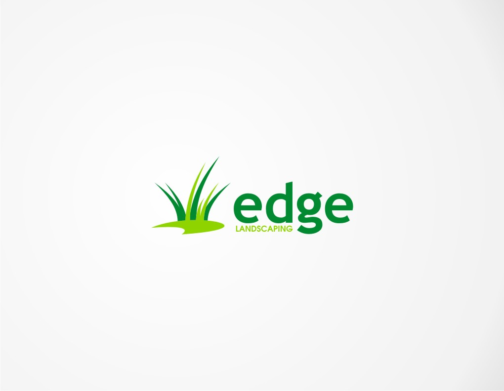Logo Design by untung - Entry No. 59 in the Logo Design Contest Inspiring Logo Design for Edge Landscaping.