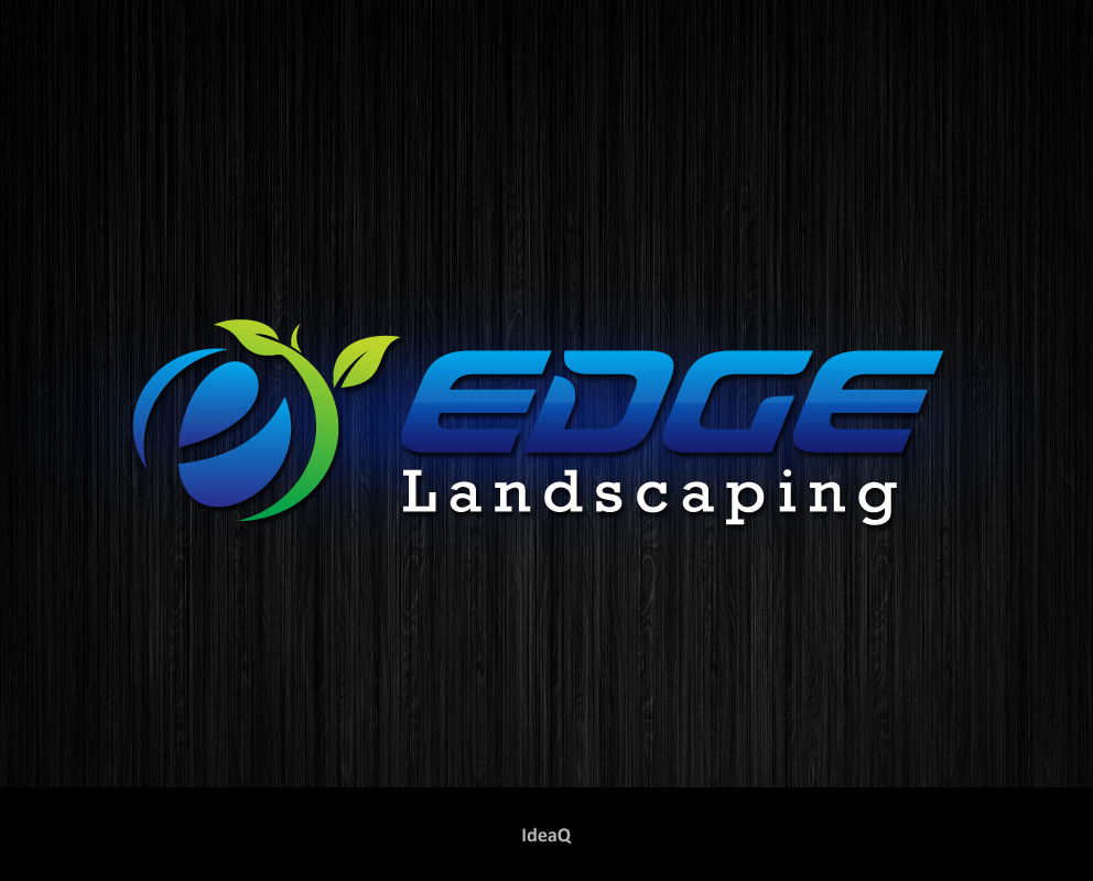Logo Design by Private User - Entry No. 61 in the Logo Design Contest Inspiring Logo Design for Edge Landscaping.