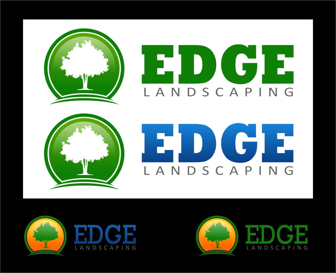 Logo Design by RasYa Muhammad Athaya - Entry No. 63 in the Logo Design Contest Inspiring Logo Design for Edge Landscaping.