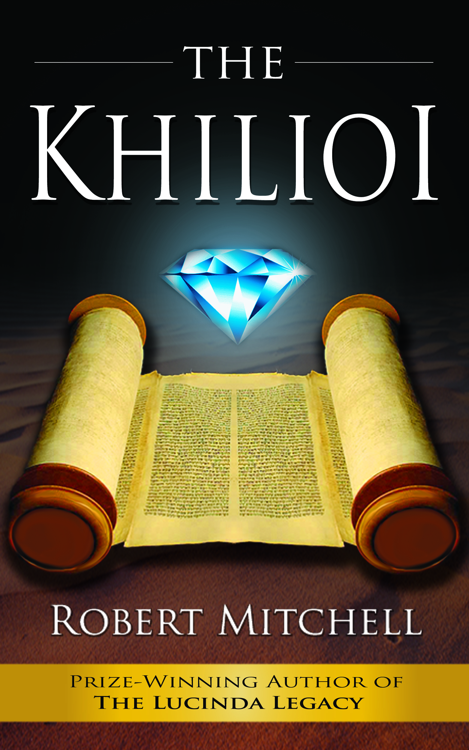 Book Cover Design by kowreck - Entry No. 96 in the Book Cover Design Contest The Khilioi Book Cover Design.