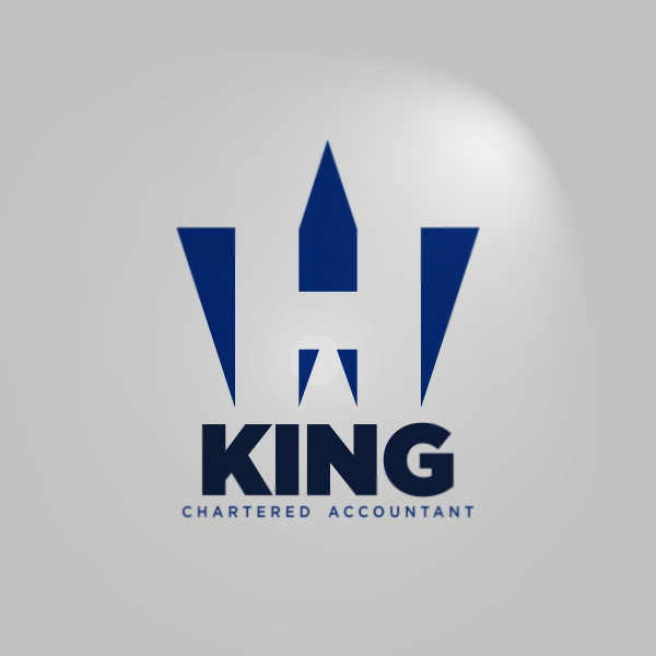 Logo Design by Private User - Entry No. 7 in the Logo Design Contest New Logo Design for William H. King, Chartered Accountant.