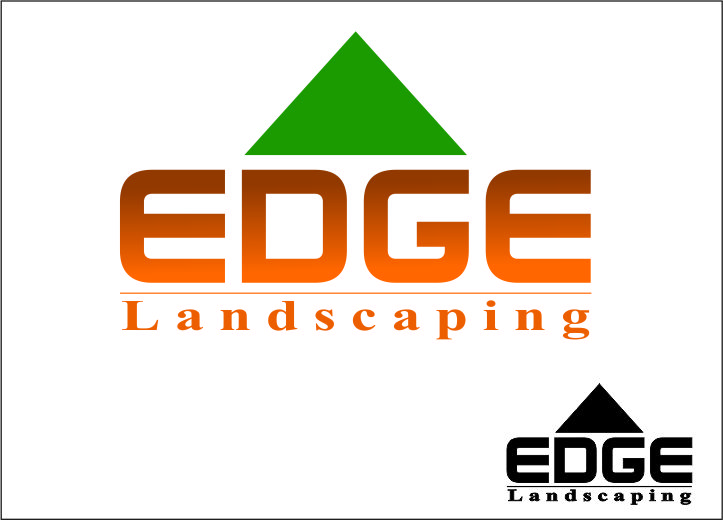 Logo Design by Agus Martoyo - Entry No. 66 in the Logo Design Contest Inspiring Logo Design for Edge Landscaping.