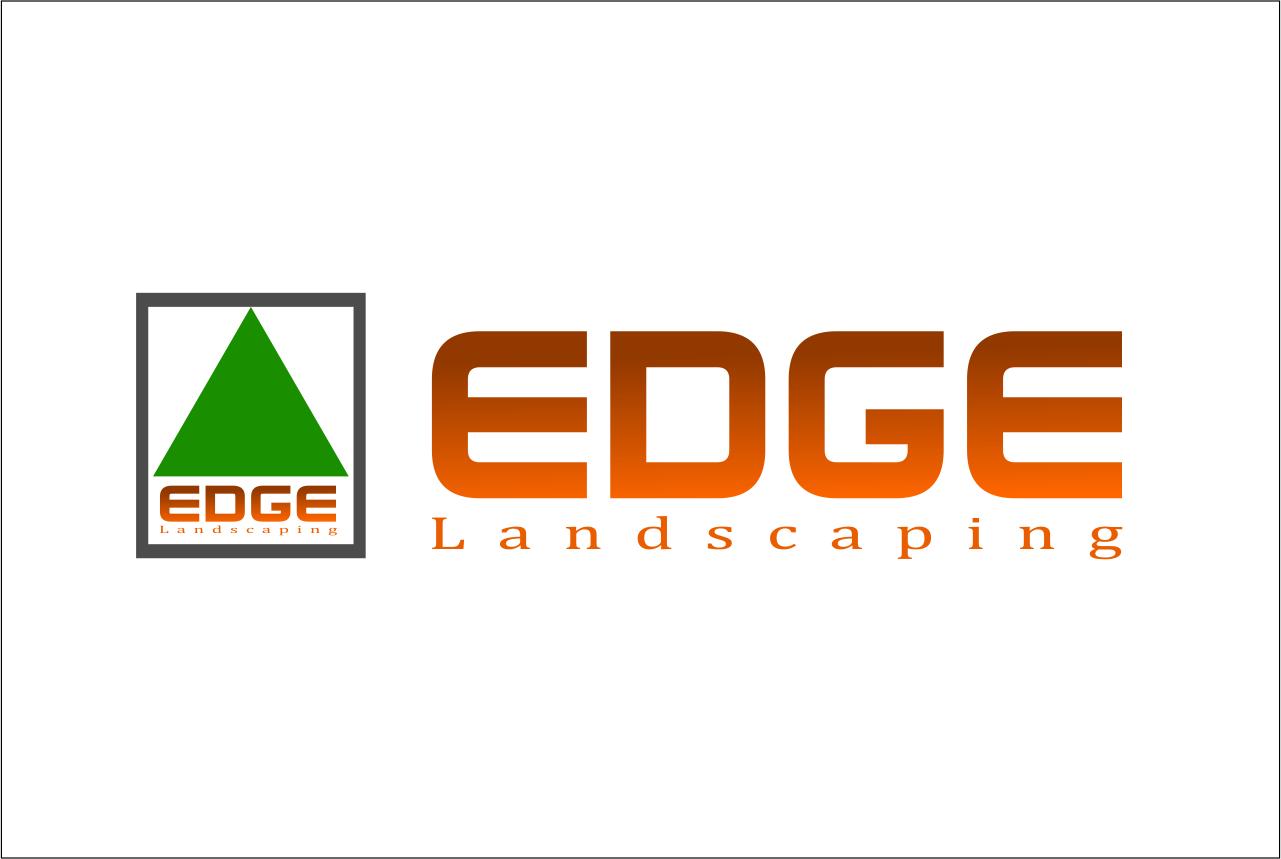 Logo Design by Agus Martoyo - Entry No. 68 in the Logo Design Contest Inspiring Logo Design for Edge Landscaping.