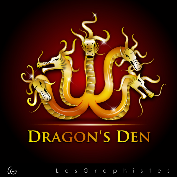 Logo Design by Les-Graphistes - Entry No. 68 in the Logo Design Contest The Dragons' Den needs a new logo.
