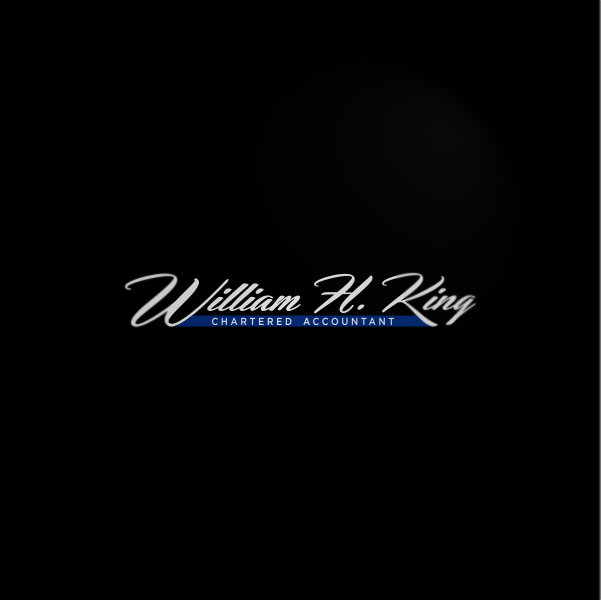 Logo Design by Private User - Entry No. 9 in the Logo Design Contest New Logo Design for William H. King, Chartered Accountant.