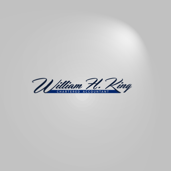 Logo Design by Private User - Entry No. 10 in the Logo Design Contest New Logo Design for William H. King, Chartered Accountant.