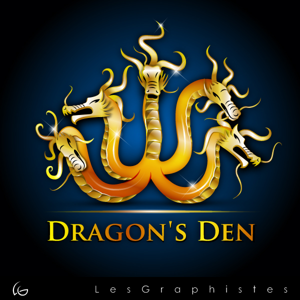 Logo Design by Les-Graphistes - Entry No. 69 in the Logo Design Contest The Dragons' Den needs a new logo.