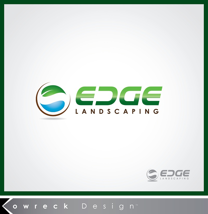 Logo Design by kowreck - Entry No. 69 in the Logo Design Contest Inspiring Logo Design for Edge Landscaping.