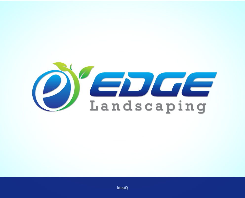 Logo Design by Private User - Entry No. 76 in the Logo Design Contest Inspiring Logo Design for Edge Landscaping.