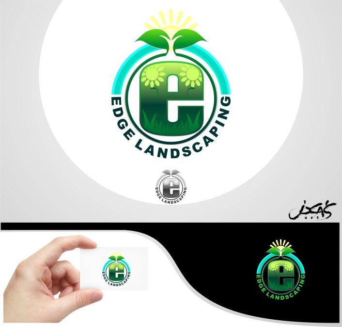 Logo Design by joca - Entry No. 91 in the Logo Design Contest Inspiring Logo Design for Edge Landscaping.