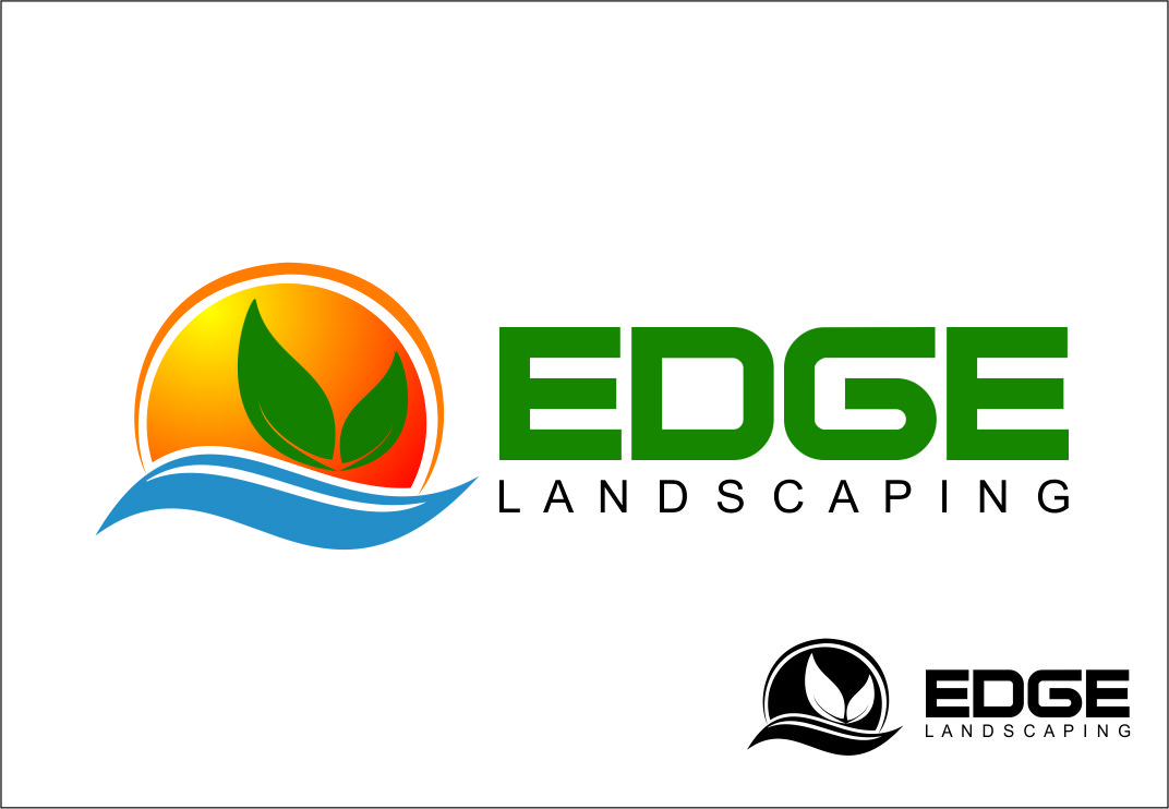 Logo Design by Agus Martoyo - Entry No. 97 in the Logo Design Contest Inspiring Logo Design for Edge Landscaping.